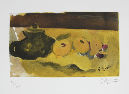 Braque Georges, (after). La nappe jaune