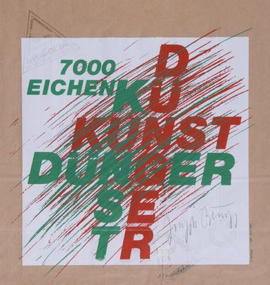 Beuys Joseph, 7000-Eichen-Tüte