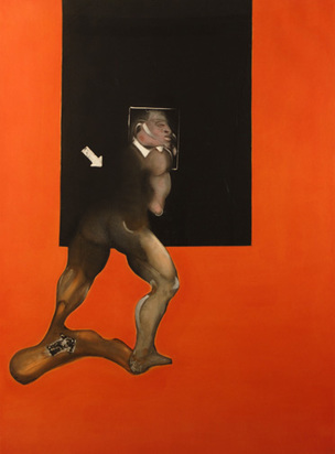Bacon Francis, Study from a Human Body, 1992