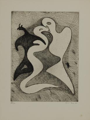 "Ernst Max, Les correspondances dangereuses, from ""Brunidor Portfolio No. 1"""