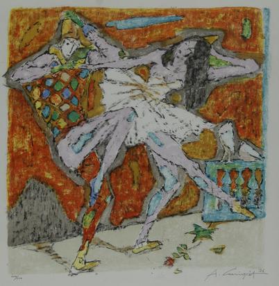 Carigiet Alois, Tanz mit dem Narren