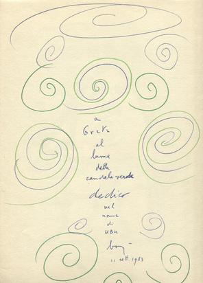 Baj Enrico, 3 Bücher: Buch. Alfred Jarry. Ubu coloniale, con disegni originali di Pierre Bonnard, e una litografia di Enrico Baj