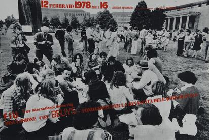 Beuys Joseph, 5 exhibition posters: Art intermedia, Cologne, 1971; Museum of Modern Art Oxford, 1974; Modern Art Oxford, 1974; Kunstmuseum Düsseldorf, 1975; FIU - Fondazione per la rinascita dell'agricultura, 1978