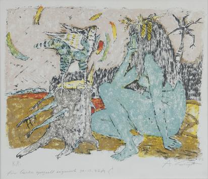 Carigiet Alois, Das Zwiegespräch