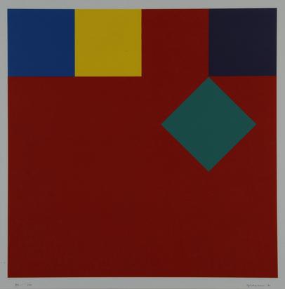 Graeser Camille, Disloziertes grünes Quadrat