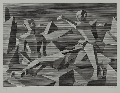 Emch Peter, 2 sheets: Untitled, 1984; Untitled