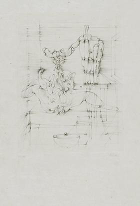 """Bellmer Hans, Sans titre, from """"Hommage à Picasso"""""""