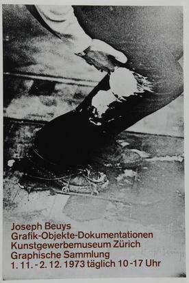 Beuys Joseph, 6 exhibition posters: Kunstverein Hannover, 1973; Kunstgewerbemuseum Zürich, 1973; Modern Art Oxford, 1974; Städtisches Kunstmuseum Bonn, 1980; Städtisches Kunstmuseum Bonn, 1980; Künstlerhaus Eisenturm, Mainz, 1984