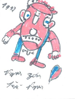 Vignes Joseph (Pepe), Male