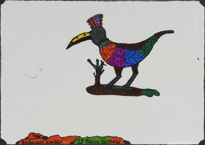Robillard André, Le paon indien