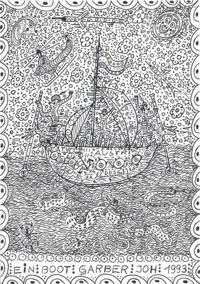 Garber Johann, Ein Boot