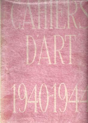 Cahiers d'Art, Book. 1940 - 1944, Quinzième-dix-neuvième année, N° 497