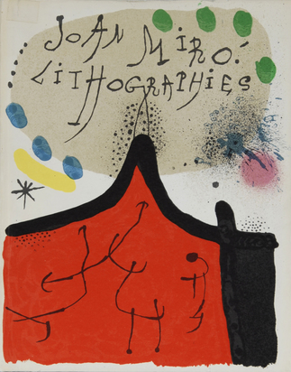 Miró Joan, Catalogue Raisonné. Fernand Mourlot. Joan Miró, Lithographies, Litógrafo I, Spanish edition
