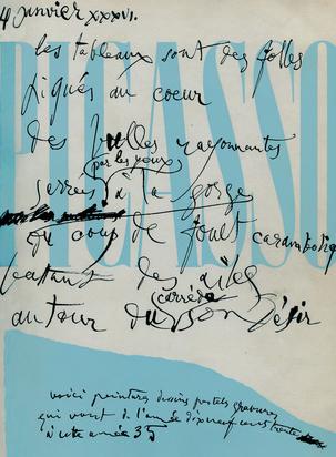 Cahiers d'Art, Book. Picasso 1930-1935, 10e année, Nos. 7-10