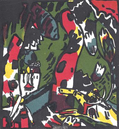 Arp Jean, Book. Arp, Onze peintres vus par Arp