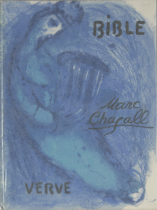 Chagall Marc, Book. Marc Chagall, Bible. Verve, Vol. VIII, Nos 33 et 34