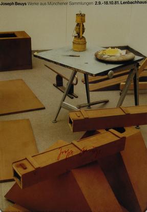 Beuys Joseph, 5 exhibition posters: Von der Heydt Museum, Wuppertal, 1971 Jospeh Beuys, Lenbachhaus München, 1981; Stadtsparkasse Wuppertal, 1984; Galerie Ilverich, 1984; Lenbachhaus, München