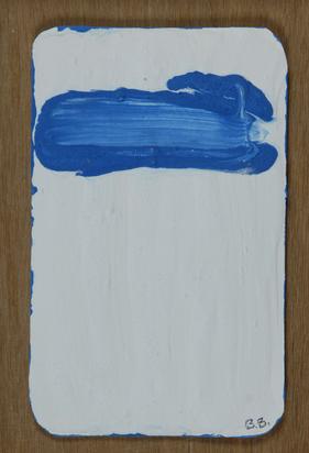 Bogart Bram, 2 sheets: Blau Door Wit, 1997; Blau Door Wit II