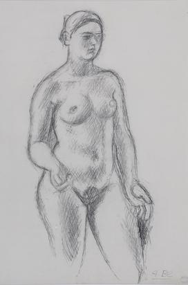 Blanchet Alexandre, Stehender Frauenakt