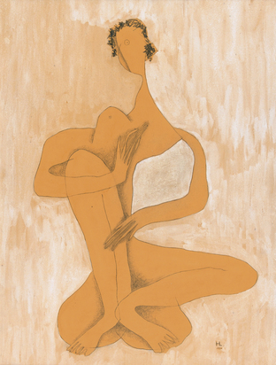 Laurens Henri, Femme assise