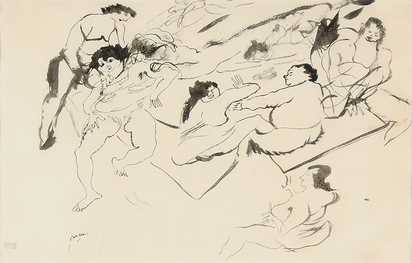 Pascin Jules, Untitled