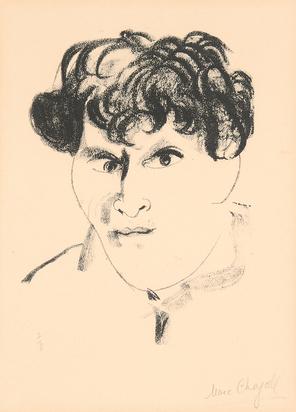 Chagall Marc, Autoportrait