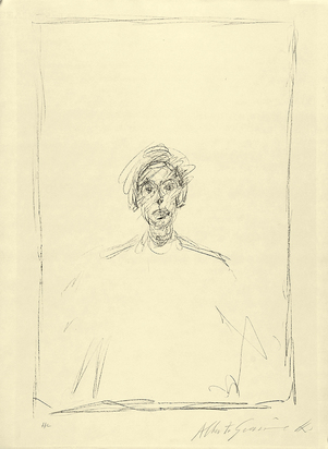 Giacometti Alberto, Tête d'un jeune homme