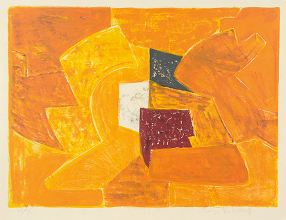 Poliakoff Serge, Composition orange
