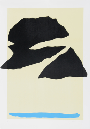2 sheets: Nuvole nere, 1973; Untitled