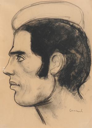 Male Head in Profile