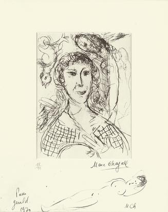 Chagall Marc, Le portrait du peintre