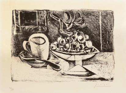 Picasso Pablo, Nature morte au compotier