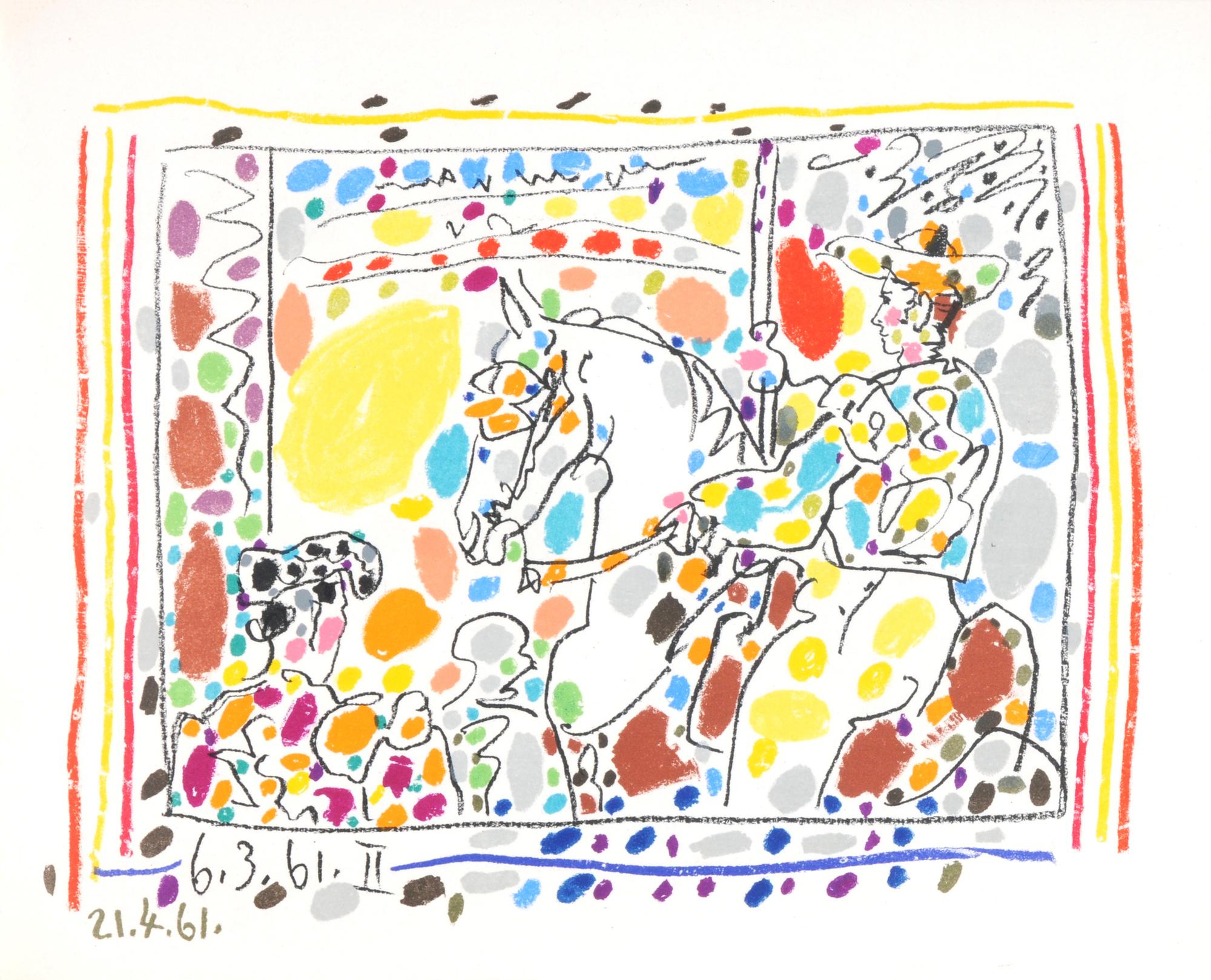 Picasso Pablo, Book. A los toros