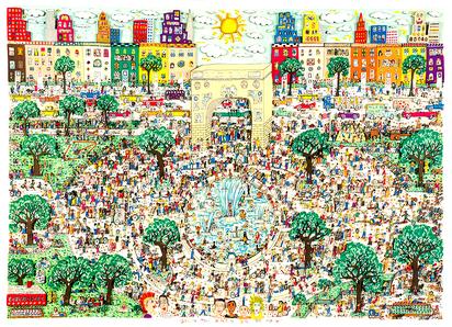 Washington Ain't No Square Park