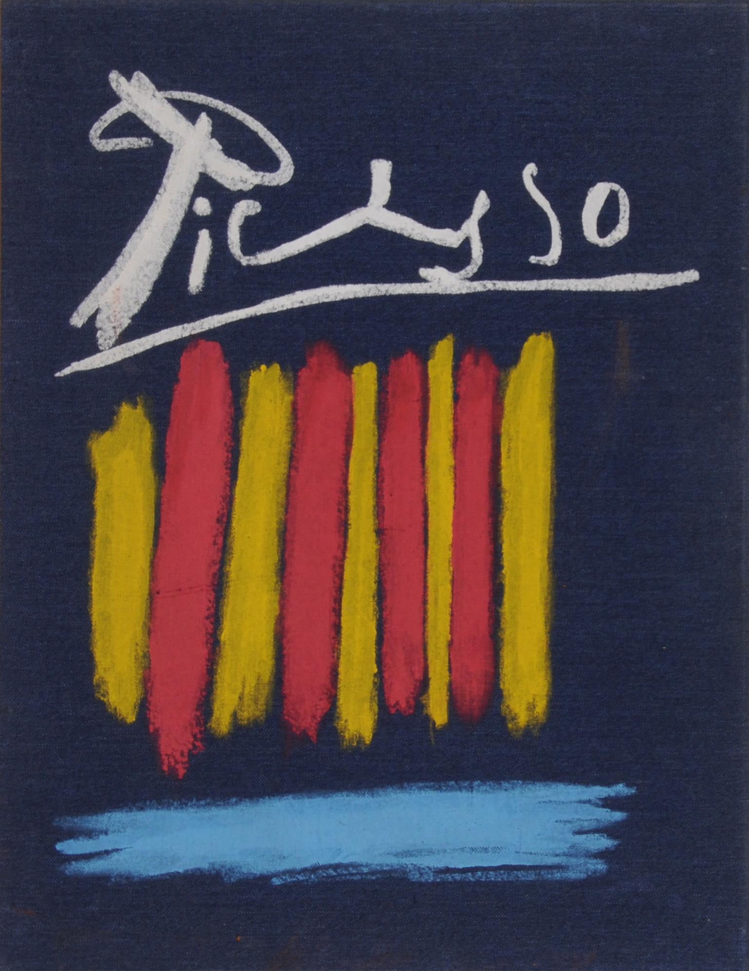 Picasso Pablo, Portfolio. Les bleus de Barcelone