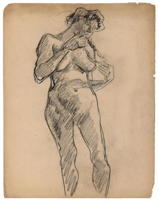 González Julio, Femme nue debout