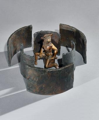 Erni Hans, Minotaurus im Labyrinth