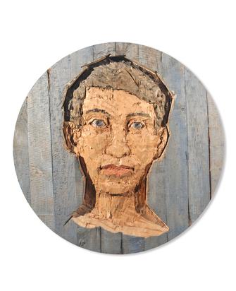 Balkenhol Stephan, Grosses Kopf Relief (Mann)