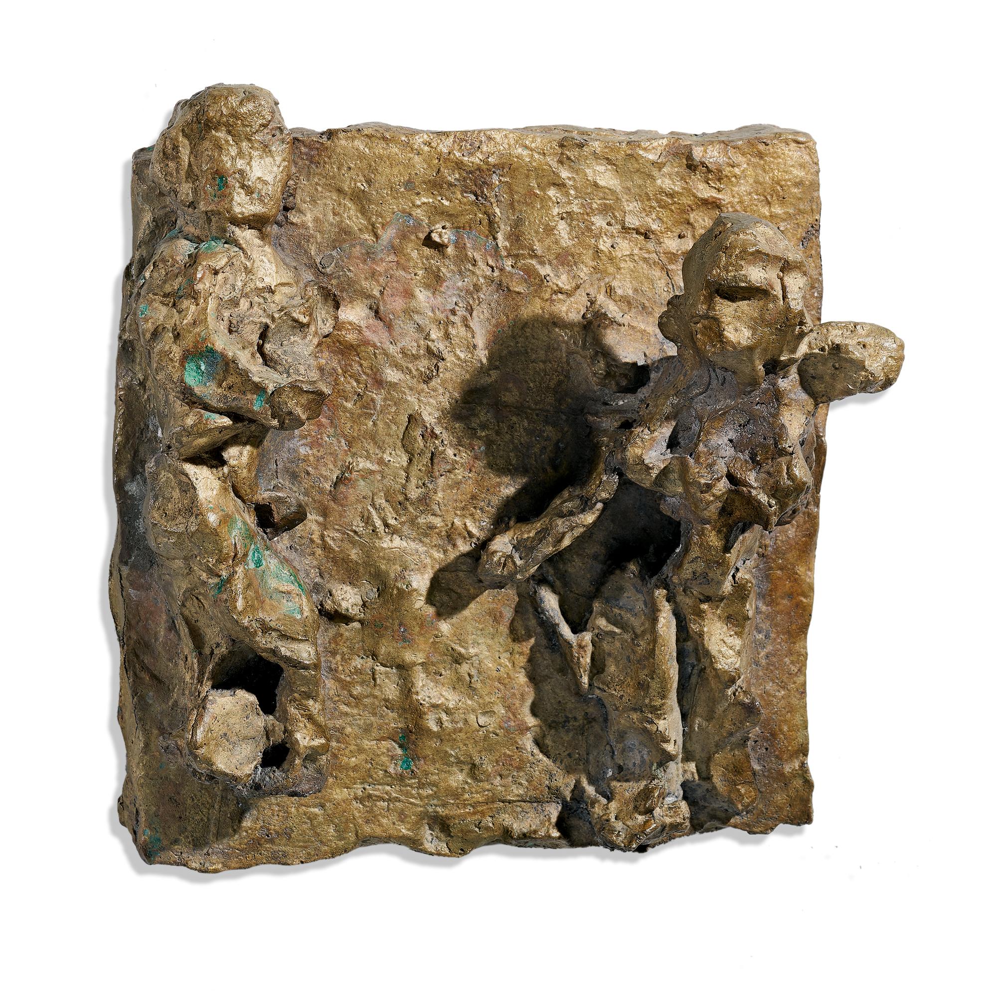 Josephsohn Hans, Ohne Titel (Reliefskizze)