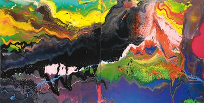 Richter Gerhard, Flow (P15)
