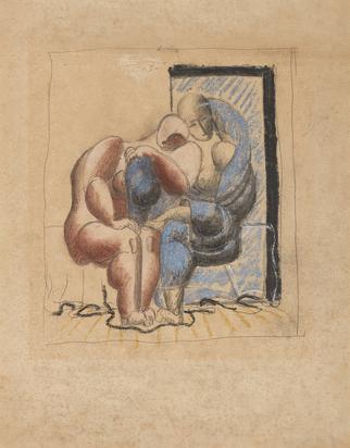 Corbusier Le, Deux femmes enlacées