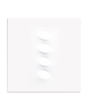 Simeti Turi, 4 ovali bianchi