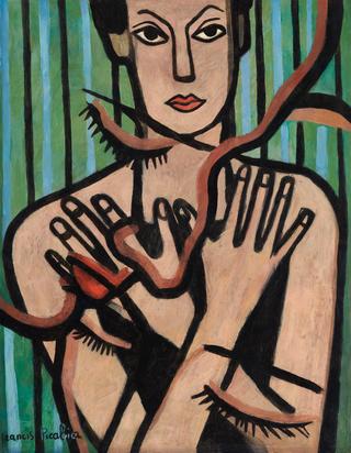 Picabia Francis, Les dix doigts