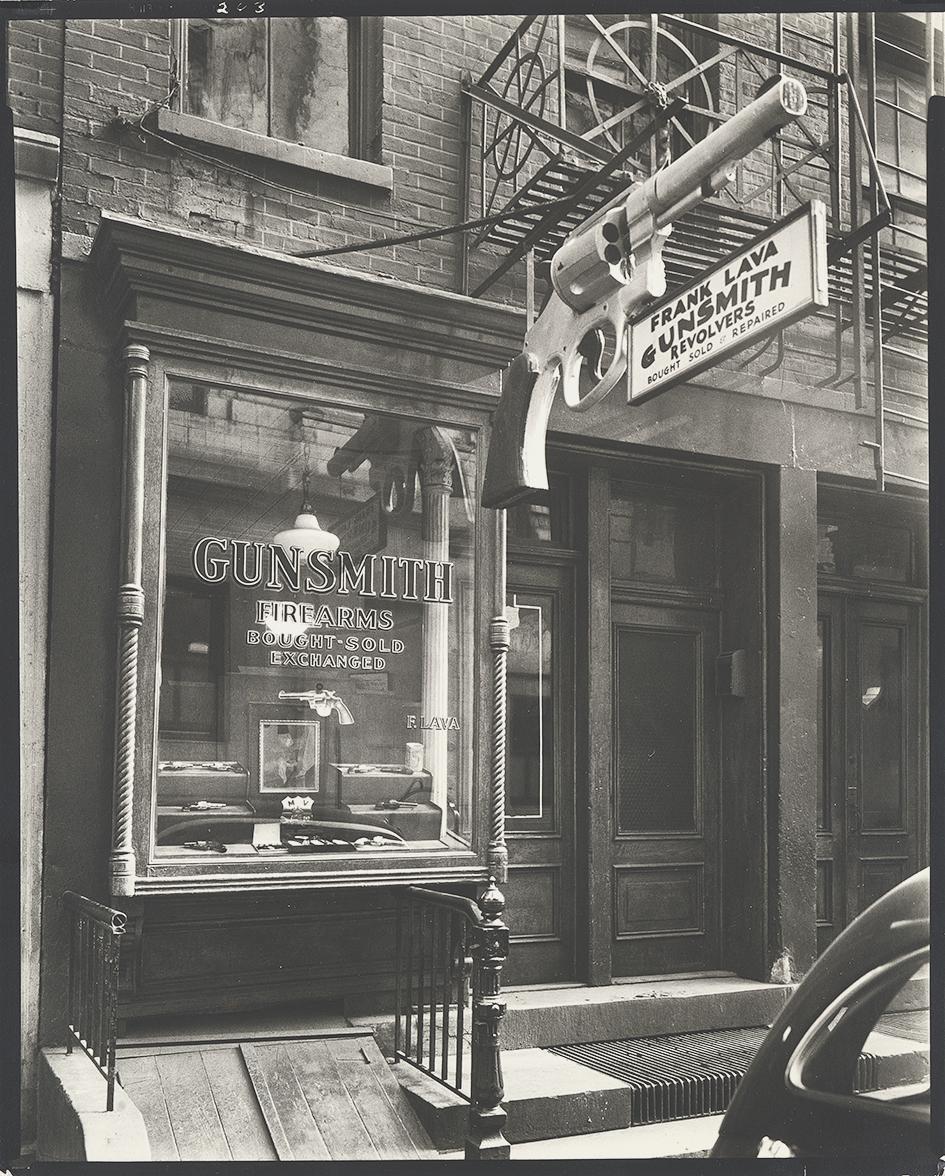 Abbott Berenice, Gunsmith - 6 Central Market Place, Manhattan