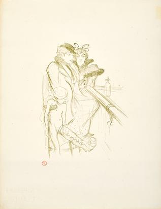 Toulouse-Lautrec Henri de, Eros vanné
