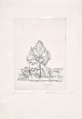 Giacometti Alberto, L'arbre