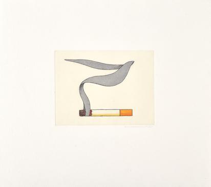 Wesselmann Tom, Smoking Cigarette 1