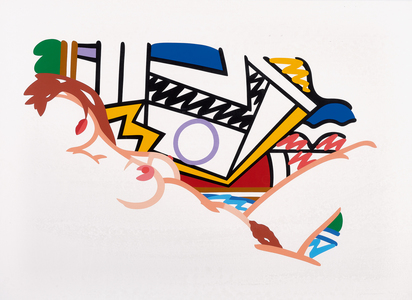 Wesselmann Tom, Monica Nude with Lichtenstein
