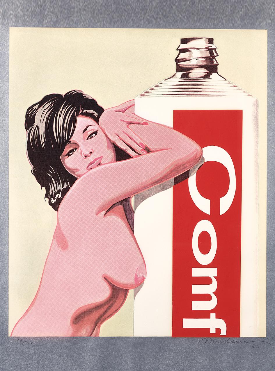 "Ramos Mel, Miss Comfort Creme, from ""11 Pop Artists, Volume III"""