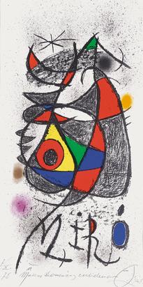 Miró Joan, Plakat. Peintures, gouaches, dessins